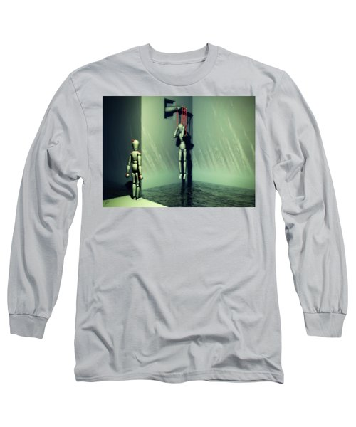 The Truthsayer Meets Denial Long Sleeve T-Shirt
