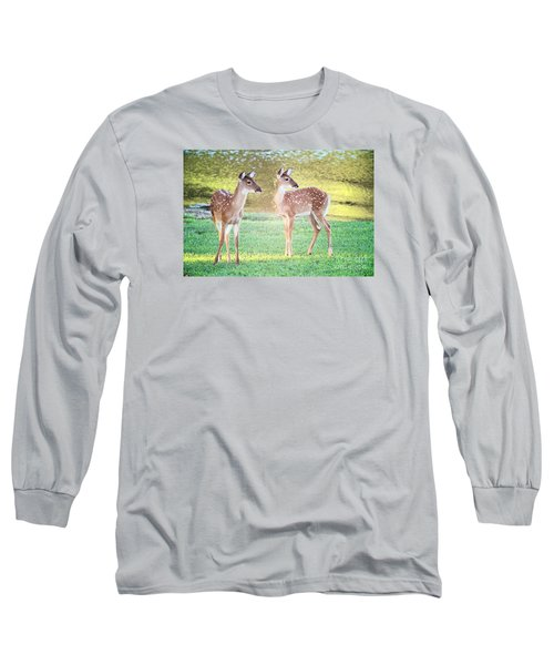 The Twins Long Sleeve T-Shirt by Geraldine DeBoer
