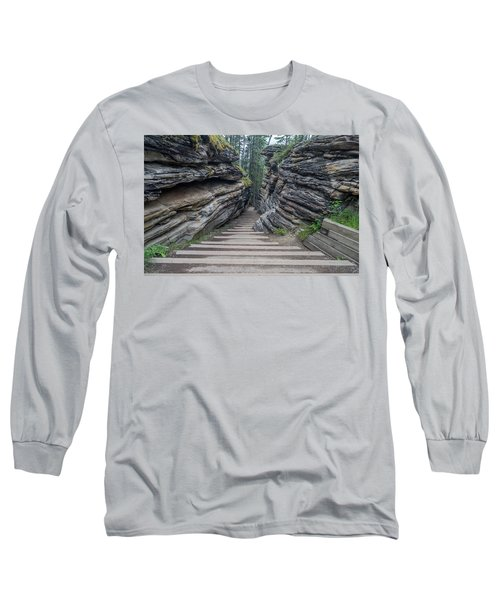 The Unknown Path Long Sleeve T-Shirt by Alpha Wanderlust