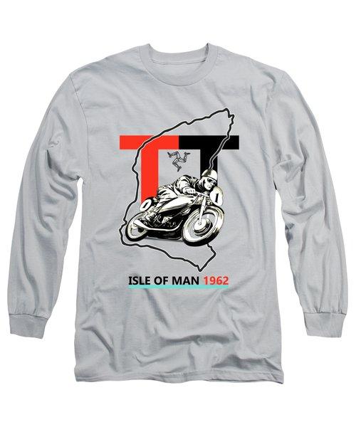 The Vintage Isle Of Man Tt Long Sleeve T-Shirt