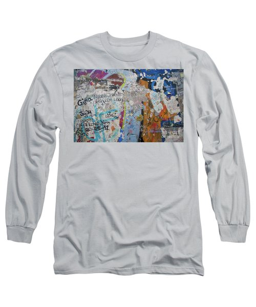 The Wall #10 Long Sleeve T-Shirt