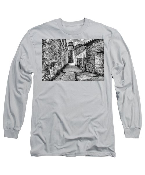 The Watch Tower Eastern State Penitentiary Long Sleeve T-Shirt