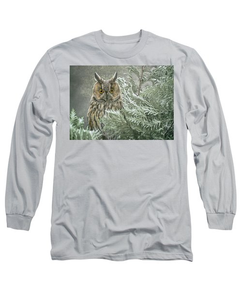 The Watcher In The Mist Long Sleeve T-Shirt