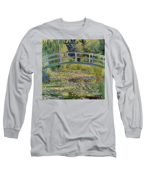 The Waterlily Pond With The Japanese Bridge Long Sleeve T-Shirt