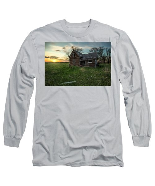Long Sleeve T-Shirt featuring the photograph The Way She Goes by Aaron J Groen