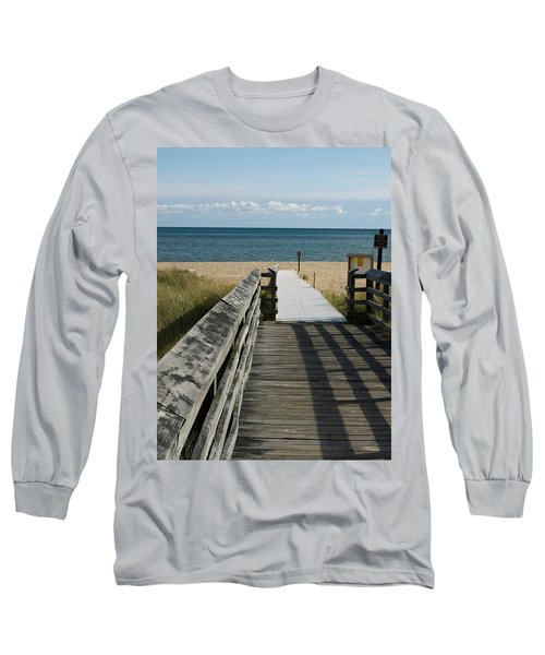 Long Sleeve T-Shirt featuring the photograph The Way To The Beach by Tara Lynn