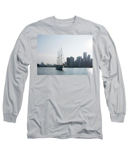 The Windy City Long Sleeve T-Shirt by John Black