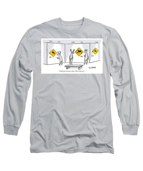Then It Hits You Long Sleeve T-Shirt