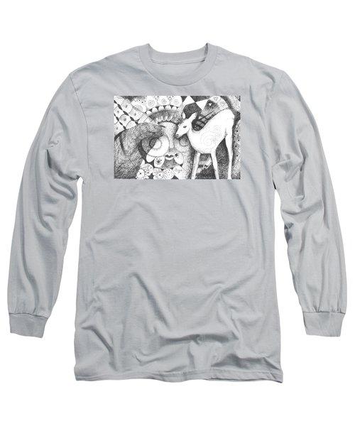 Thinking Of Mary Long Sleeve T-Shirt