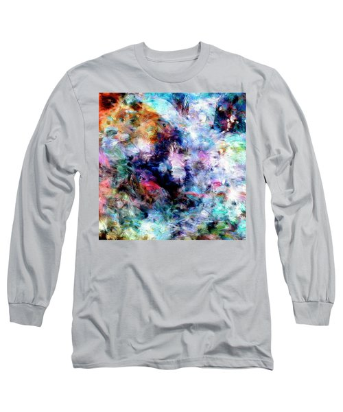 Long Sleeve T-Shirt featuring the painting Third Bardo by Dominic Piperata