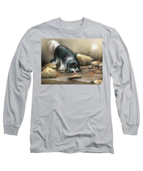 Thirsty Long Sleeve T-Shirt