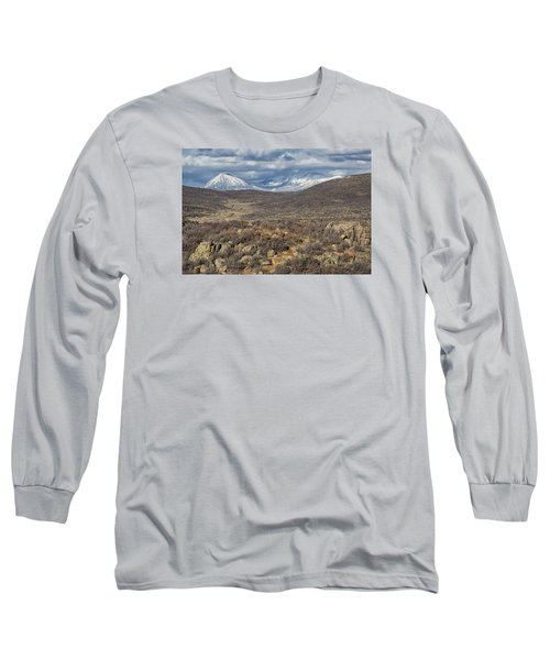 This Way To The Mountains Long Sleeve T-Shirt