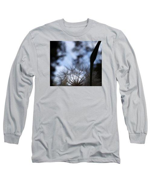 Thistle At Dusk Long Sleeve T-Shirt