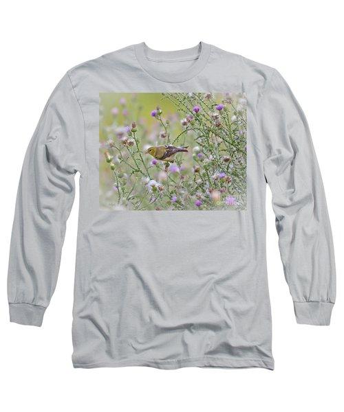 Thistle Bender Long Sleeve T-Shirt by Kerri Farley