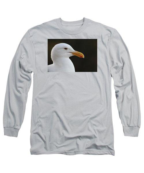 Thoughtful Gull Long Sleeve T-Shirt