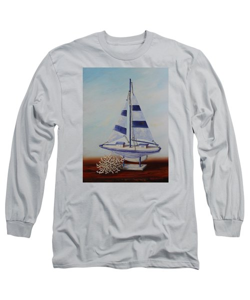 Thoughts Of Sea Long Sleeve T-Shirt