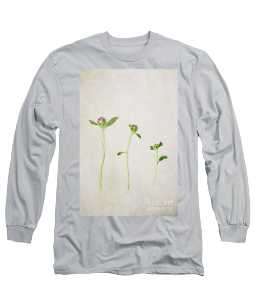 Three Buds Long Sleeve T-Shirt