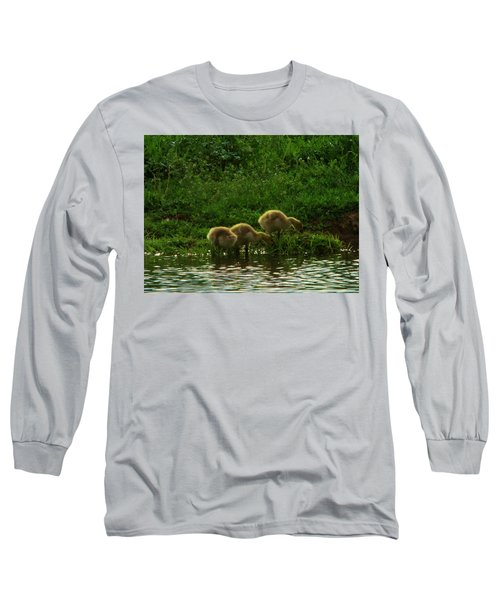Three Gosling Shore Side Long Sleeve T-Shirt