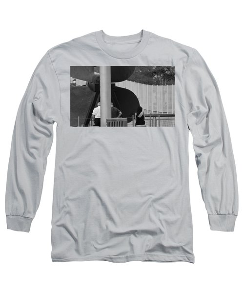Three Is A Company Long Sleeve T-Shirt by Jose Rojas