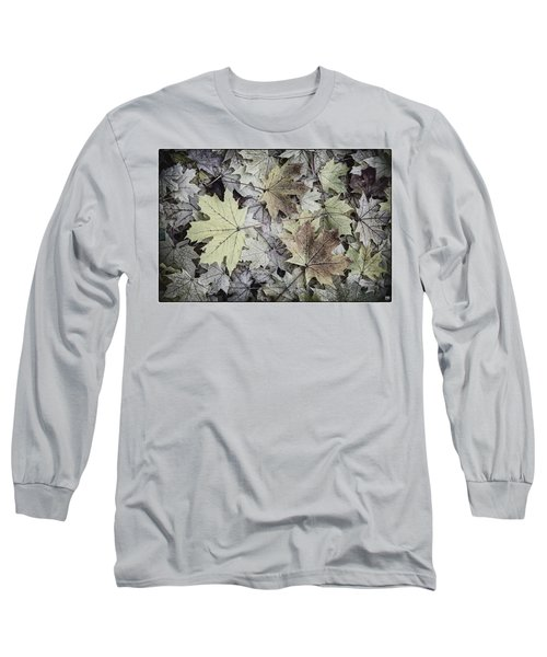 Three Leaves Long Sleeve T-Shirt
