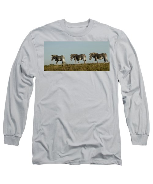 Three On The Horizon Long Sleeve T-Shirt