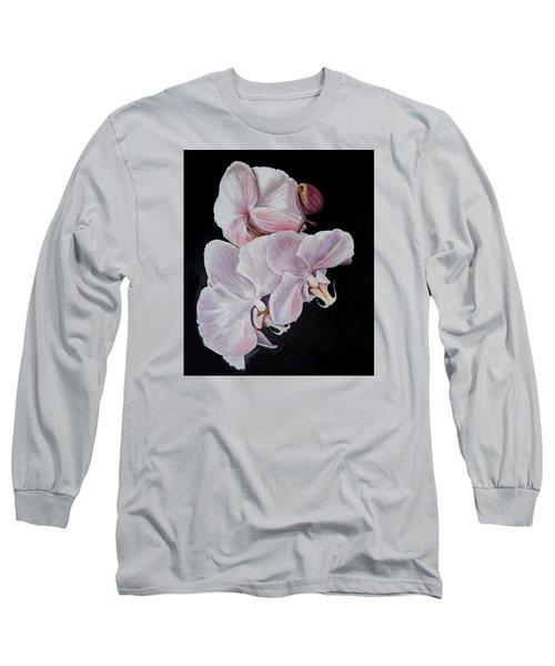 Three Orchids Long Sleeve T-Shirt