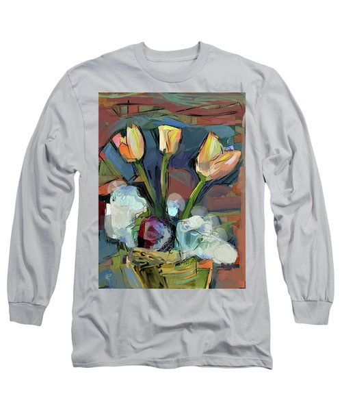 Three Tulips Long Sleeve T-Shirt