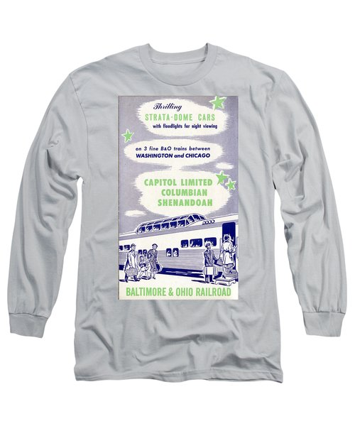 Thrilling Strata-dome Cars Long Sleeve T-Shirt