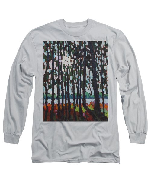 Through The Opinicon Forest Long Sleeve T-Shirt