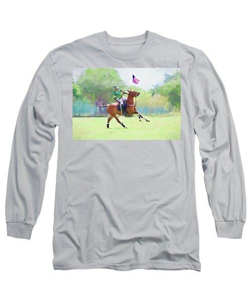 Throw In Long Sleeve T-Shirt