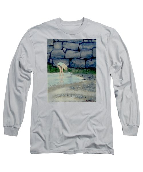 Tidal Pool Treasures Long Sleeve T-Shirt by Anthony Ross