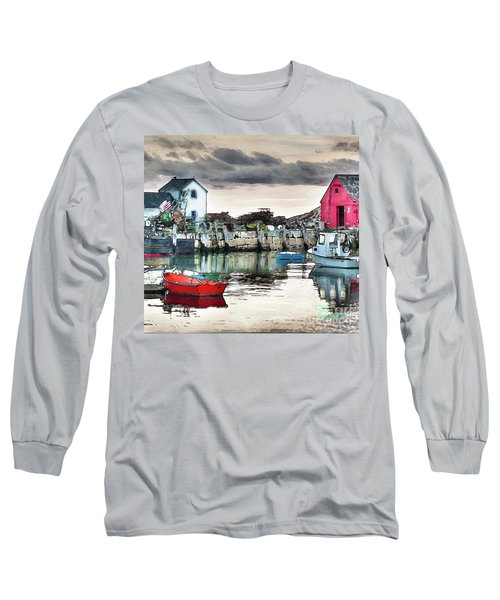 Tide's Out Long Sleeve T-Shirt by Tom Cameron
