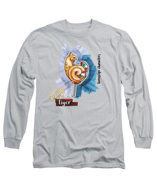 Tiger Horoscope Long Sleeve T-Shirt