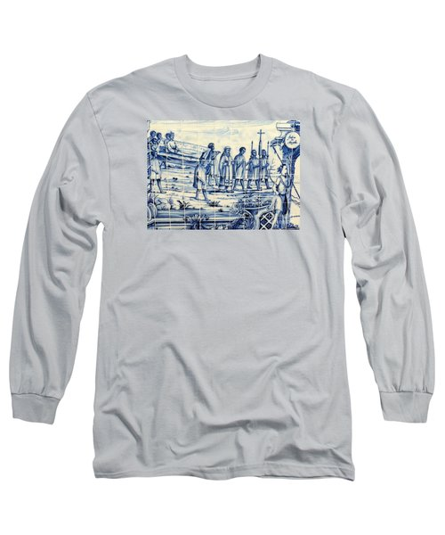 Tile Art Angola Long Sleeve T-Shirt