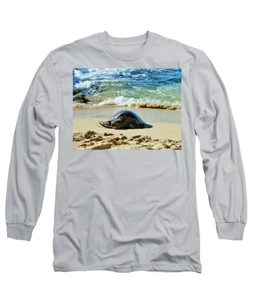 Time For A Rest Long Sleeve T-Shirt by Craig Wood