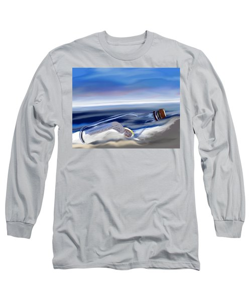 Time In A Bottle Long Sleeve T-Shirt