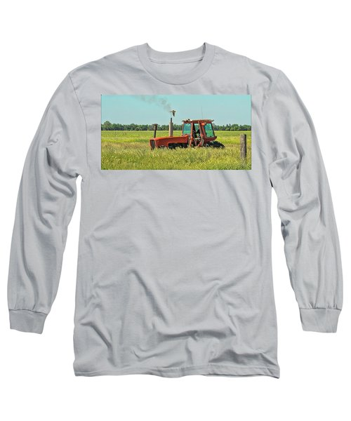 Time To Mow Long Sleeve T-Shirt