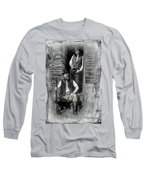 Tintype Portrait Reproduction Long Sleeve T-Shirt