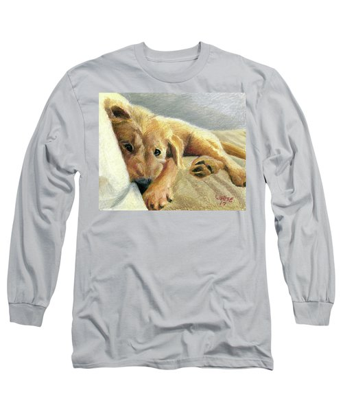 Tired Puppy Long Sleeve T-Shirt