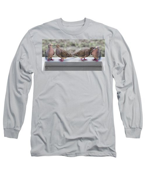Together For Life Long Sleeve T-Shirt by Betsy Knapp