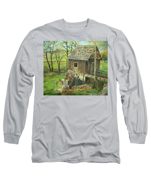 Tom Lott's Mill In Georgia Long Sleeve T-Shirt