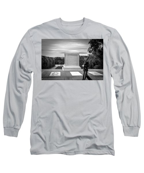 Long Sleeve T-Shirt featuring the photograph Tomb Of The Unknown Solider by David Morefield