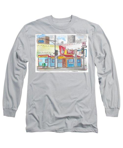 Tony Burger, Downtown Los Angeles, California Long Sleeve T-Shirt