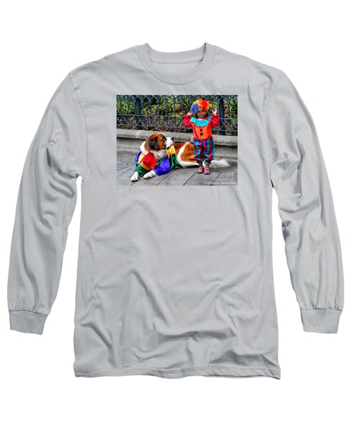 Too Cute For Words Long Sleeve T-Shirt by Al Bourassa