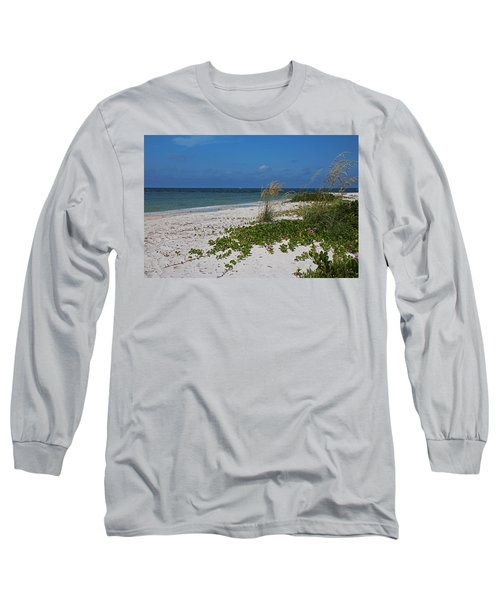 Long Sleeve T-Shirt featuring the photograph Too Much Space Between Us by Michiale Schneider
