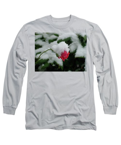 Too Soon Winter - Red Rose  Long Sleeve T-Shirt