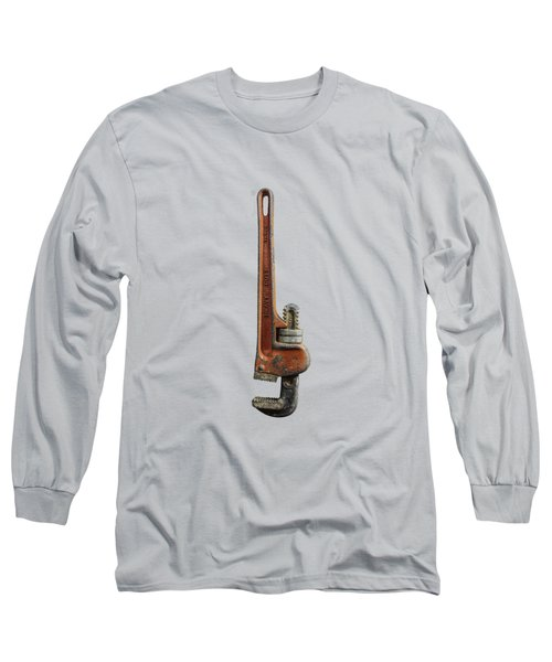 Tools On Wood 70 Long Sleeve T-Shirt by YoPedro