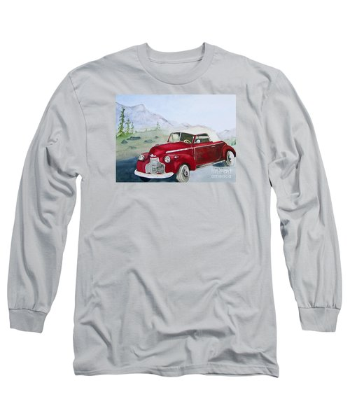 Topless 1940 Chevy Long Sleeve T-Shirt