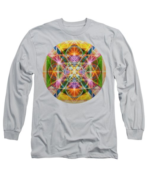 Torusphere Synthesis Bright Beginning Soulin I Long Sleeve T-Shirt by Christopher Pringer