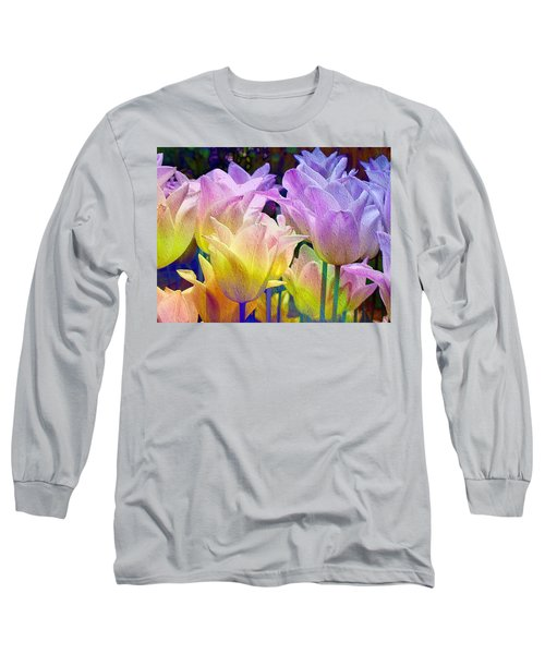 Totally Tulips Two Long Sleeve T-Shirt